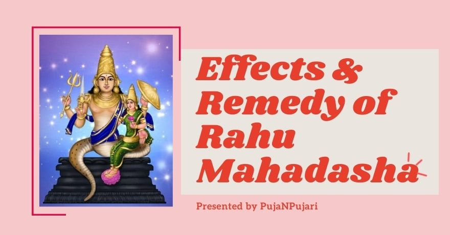 Rahu Mahadasha Negative Impacts & Astrological Remedies