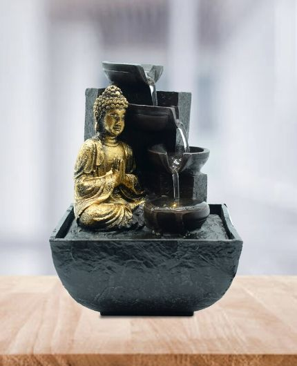 Buy Indoor Water Fountain At Lowest Price In India Online Shopping Puja N Pujari Buddha Ganesh Lord Shiva Indoor Water Fountains